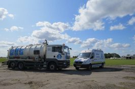 liquid waste disposal vehicles from aa turner tankers